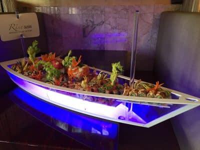 Sushi Boat - Rise Sushi - Creative Asian Cuisine