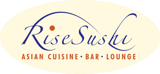 Rise Sushi, Thai and Chinese Restaurant Logo