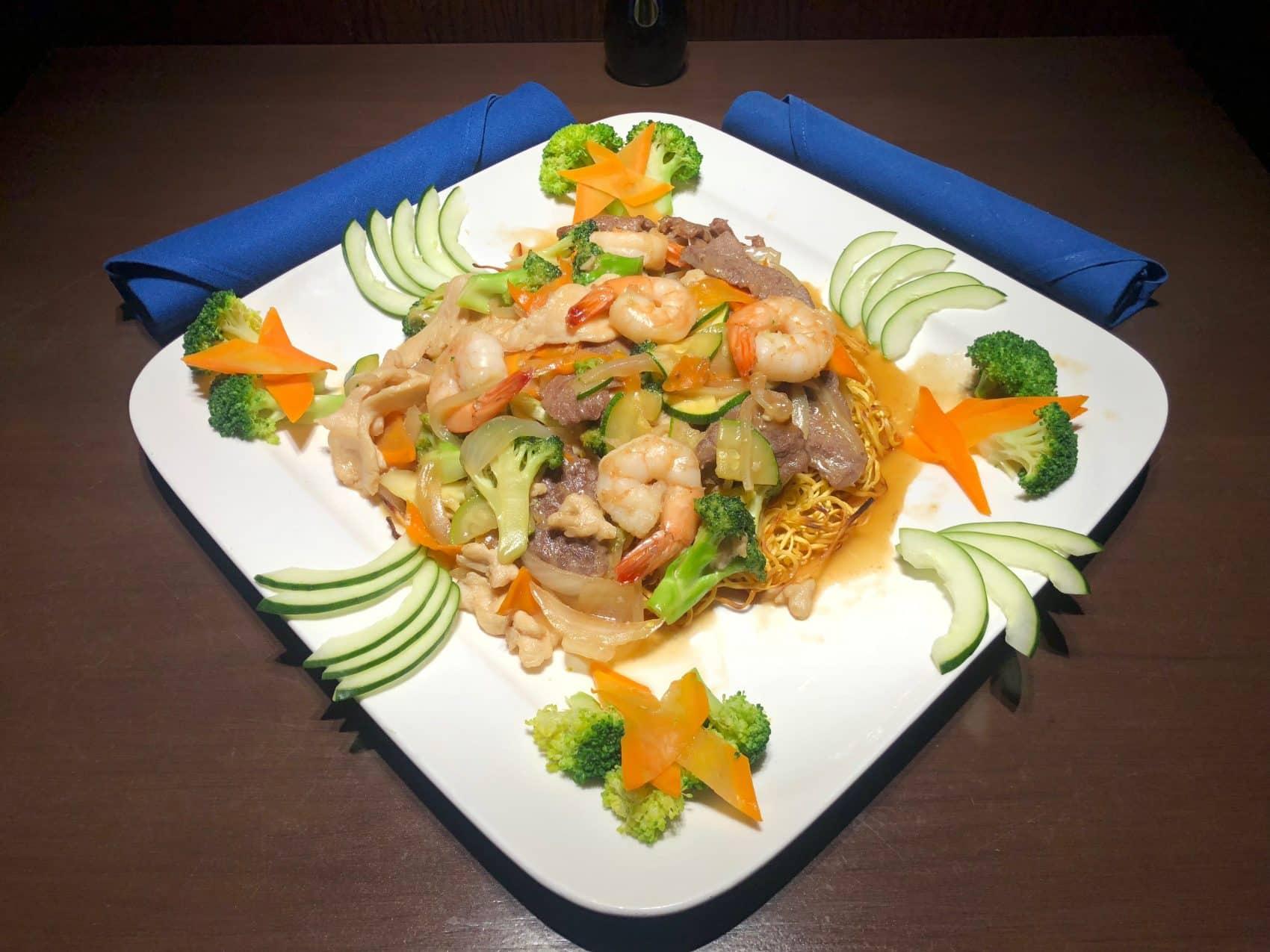 Entre' - Rise Sushi - Creative Asian Cuisine